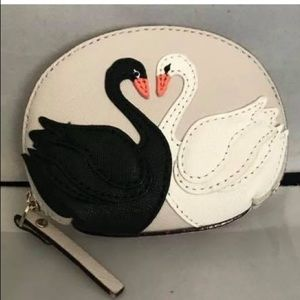 Very rare KATE SPADE SWANS IN LOVE COIN PURSE